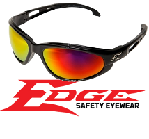 Edge Eyewear - Designer quality safety related eyewear made by Wolf Peak International
