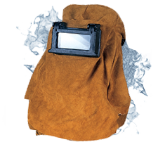 Leather Welding Helmets and Hoods