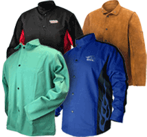 Flame Resistant Welding Jackets