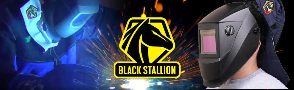 2X-Large Black Stallion JL1021-BB Color Block Leather Cape Sleeves