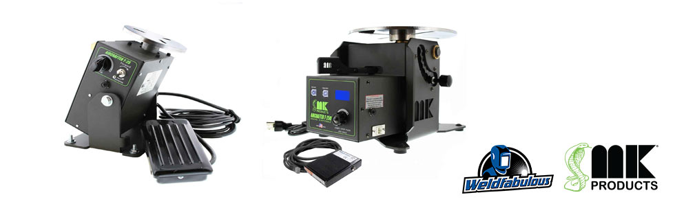 MK Products Aircrafter Welding Turntable Positioners